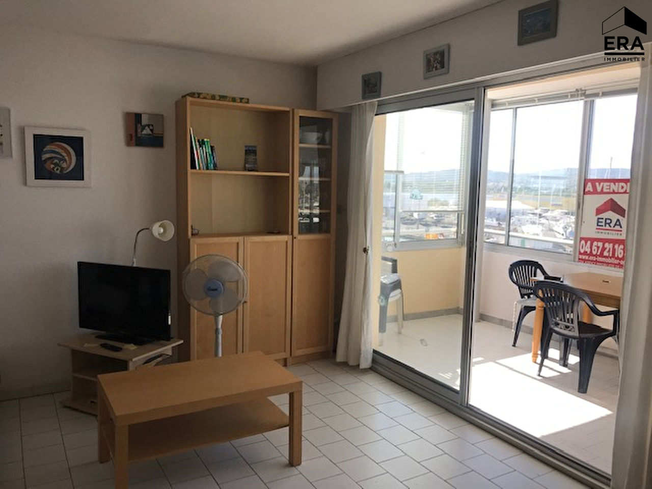 Ideal vacances appartement Frontignan Plage Type T2 + Loggia + Box